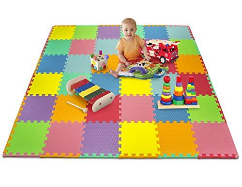New Baby Care Play Mat Foam Floor Gym