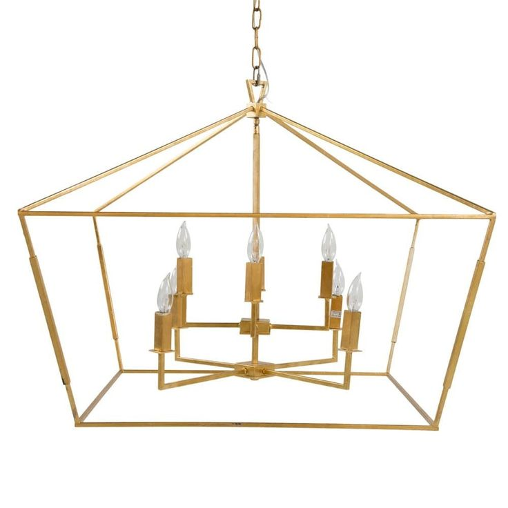 Darlana Two Tiered Ring Chandelier: Gabby Adler Large Chandelier - Gold