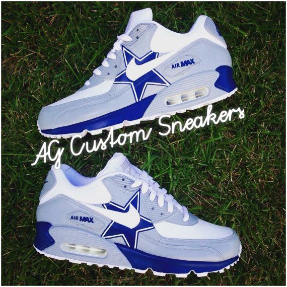 Custom Dallas Cowboys Air Max 90 Sneaker by AGcustomSneakers