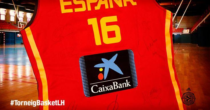 Participa #TorneigBasketLH y gana la camiseta #selección #española #basket firmada por sus #cracks