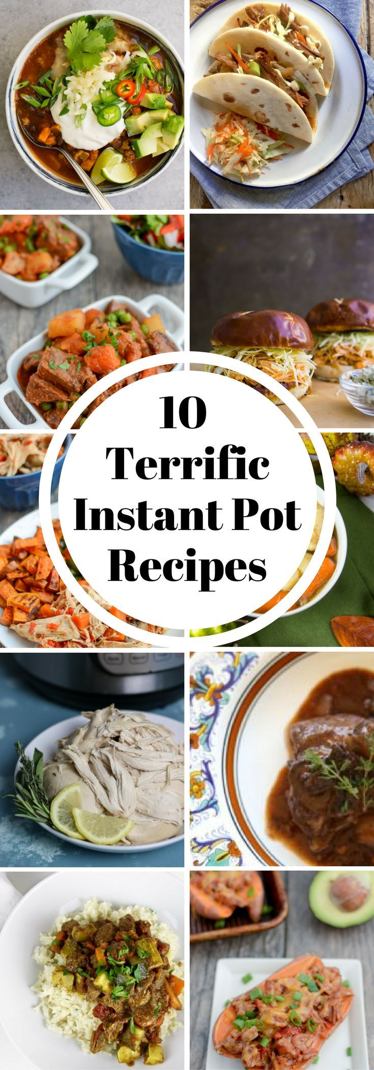 Are you new to the Instant Pot or having you been using a pressure cooker forever? Either way, these are 10 terrific recipes for pressured cooked meals.