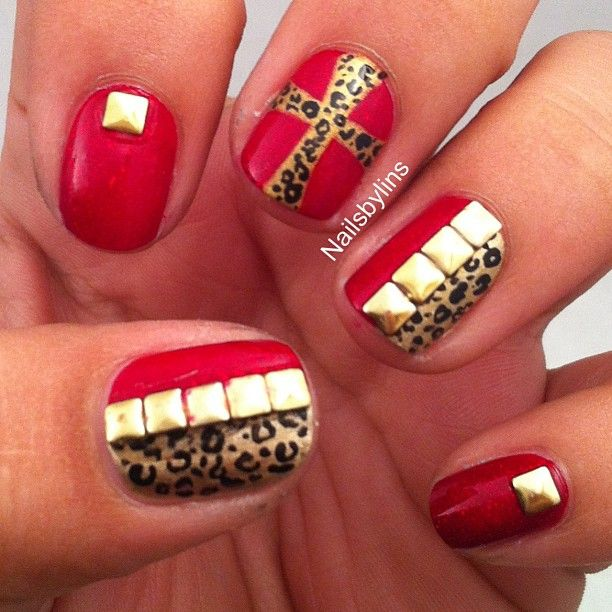 49ers Acrylic Nails Best Nail Designs 2018