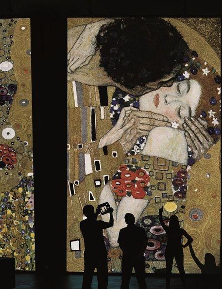 Exposition Klimt experience à Florence