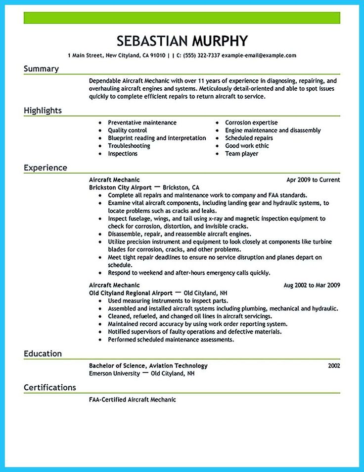 awesome Learning to Write a Great Aviation Resume, Check more at http://snefci.org/learning-write-great-aviation-resume