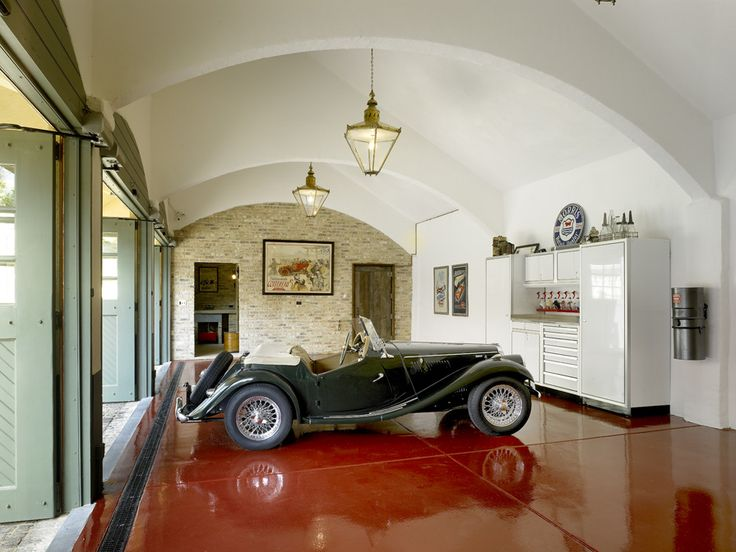 A showroom garage for the finest automobile collection
