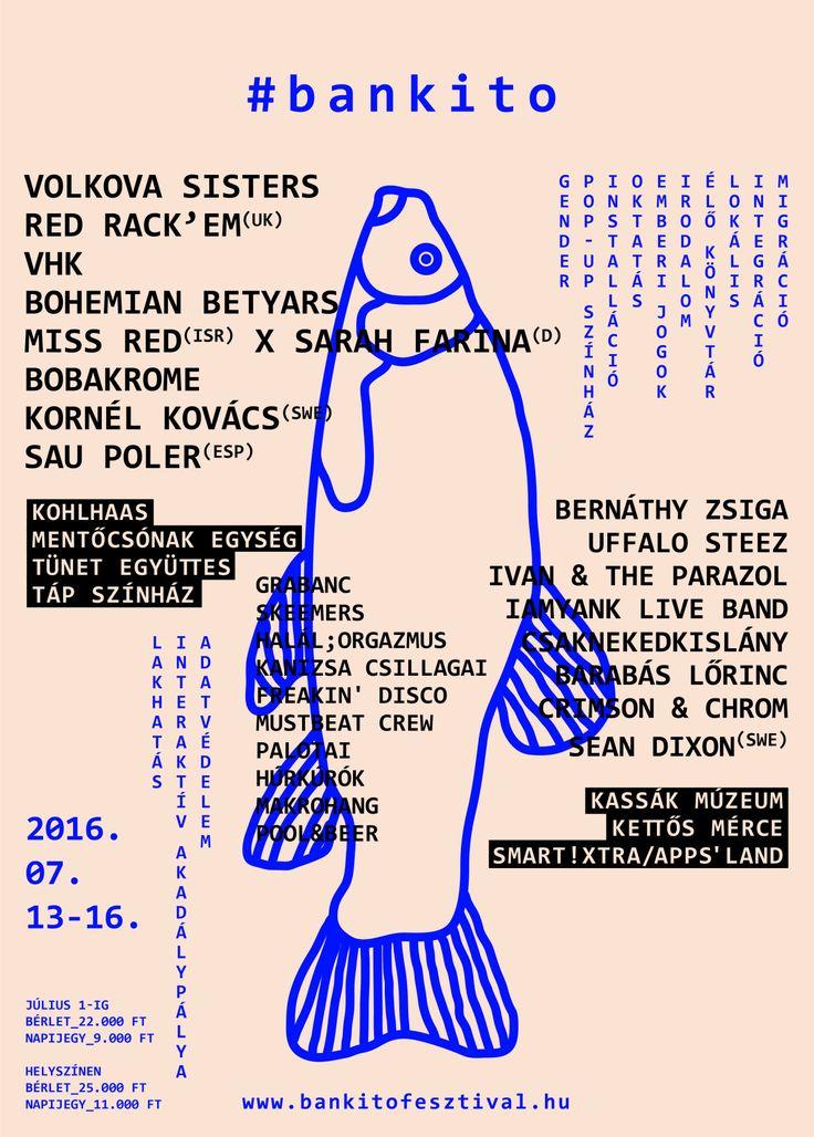 [ REF ] [ POSTER ] [ LINE-UP ] [ TIPOGRAFIA ] [ COMPOSIÇÃO ]  '16 Bánkitó, Cultural & Music Festival 'Poster