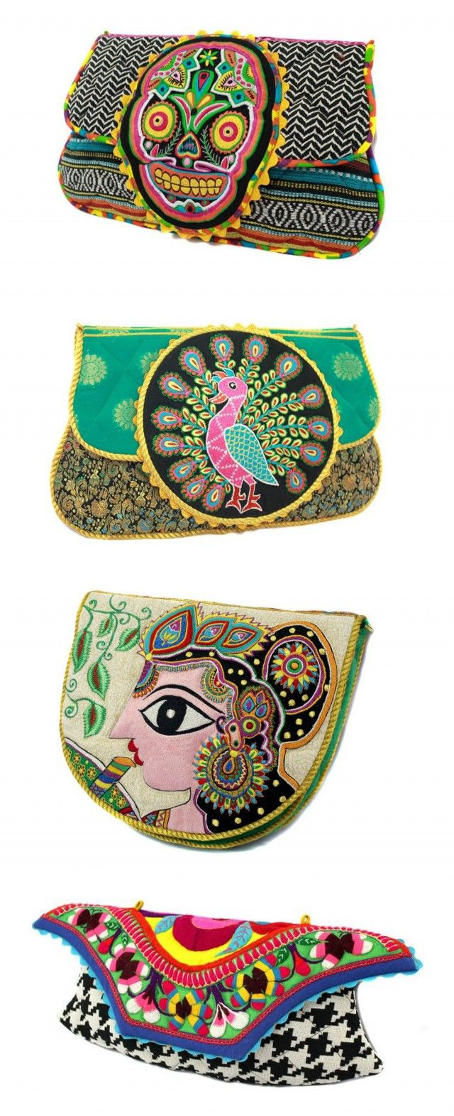 ~Ragmatazz Clutch Bags | The House of Beccaria~