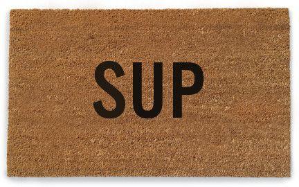 sup doormat / reed wilon design