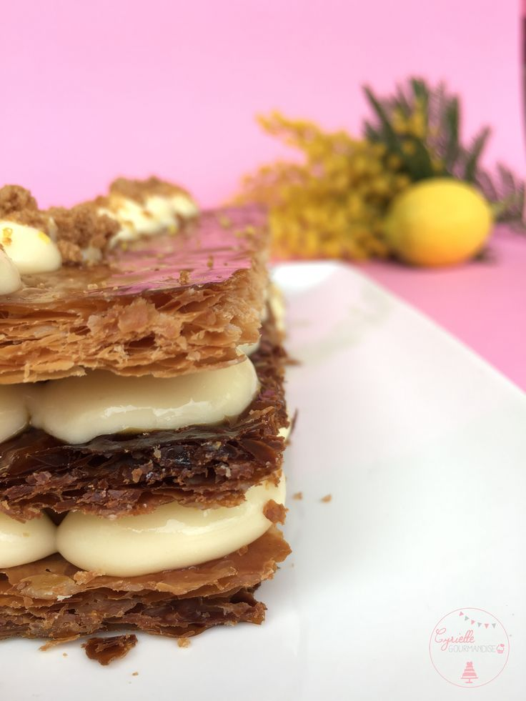 Millefeuille Citron-Spéculoos, | Cyrielle Gourmandise