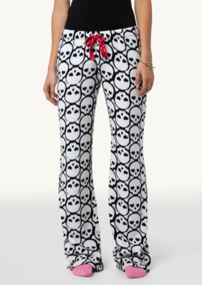 skull pajama bottoms