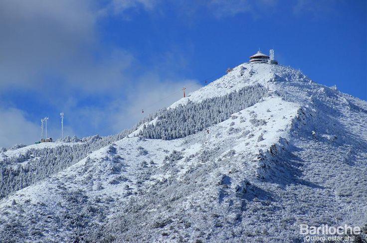 Cerro Otto nevado... en primavera.