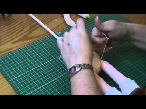 Muñeca completa 4ª parte: Ensamblar piezas - YouTube