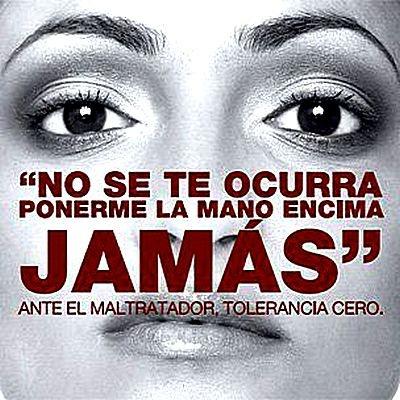 25 de Noviembre. Día Internacional de la No Violencia contra la Mujer.