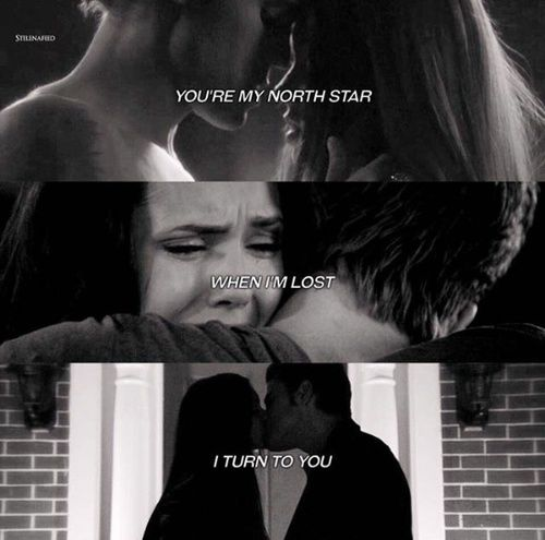 TVD The Vampire Diaries Stefan Elena Youre My North Star
