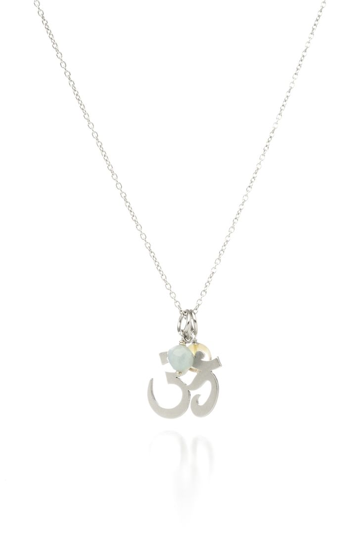 Personalize your own.. OM symbol with gem stones