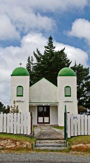 Ratana church at Te Kao, Northland, New Zealand,