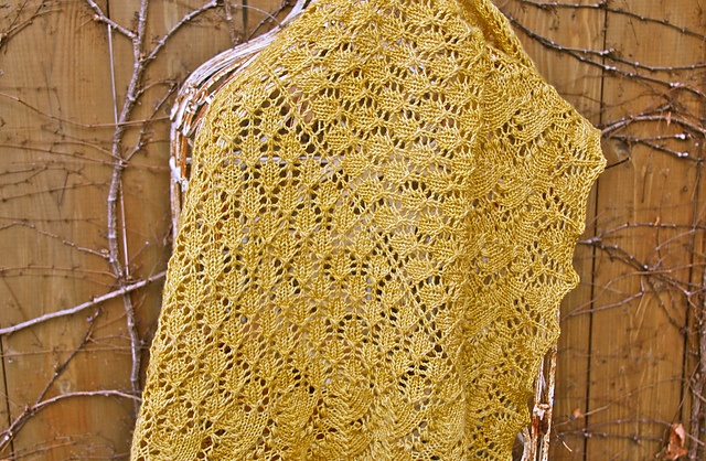 Ravelry: my first shawl