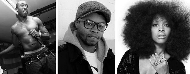 MR: Freddie Gibbs, BJ The Chicago Kid, Erykah Badu, Ka, Dickes B!   Audio: Kendrick Lamar, Diplo x Usher, Troy Ave
