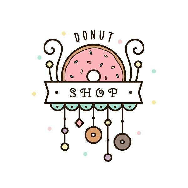 Donut for #doodleadayjune  #drawing #donut #illustration #illustrator #vector #art #digitalart #instaart #logo #lineart #рисунок #пончик #творчество