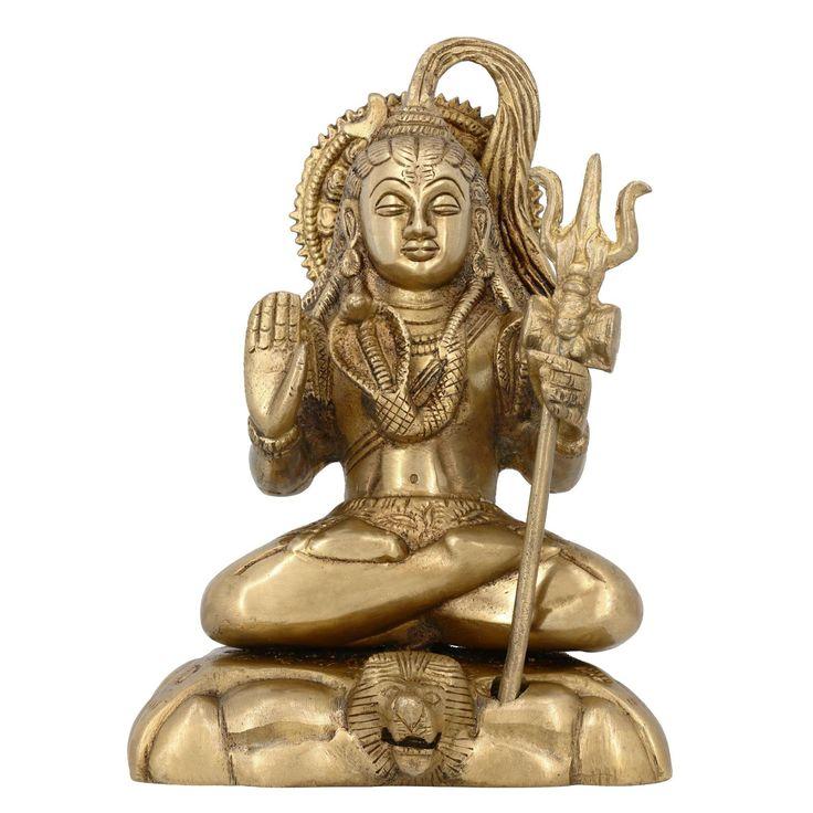 home decor lord shiva statue spiritual gift store – ShalinIndia