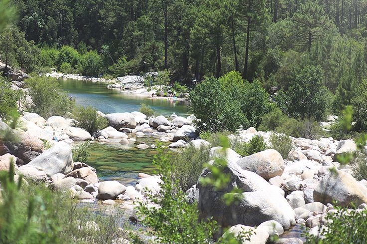 Solenzara-Fluss Badebecken