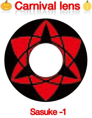 [コスプレ] ナルト サスケ-1「永遠の」万華鏡写輪眼 - Naruto Sasuke1 - N10 [14.0mm]