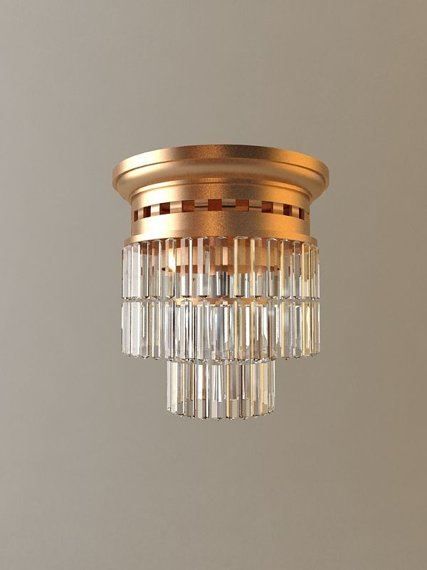 Ceiling Light Fixture 3D Model- Originally modelled in 3ds max 2009. Final images rendered with vray 1.50 Sp2.   - #3D_model #Lamp