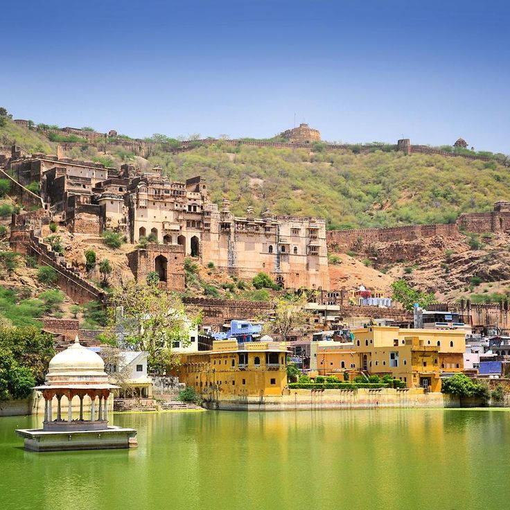 From our trip to Rajasthan: in the city of Bundi. Photo © TravelPlusStyle.com