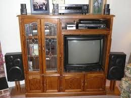 So, there I was on Craigslist scrolling through all things furniture, and I came across this great older style entertainment center. I'd wanted to try a repurpo…