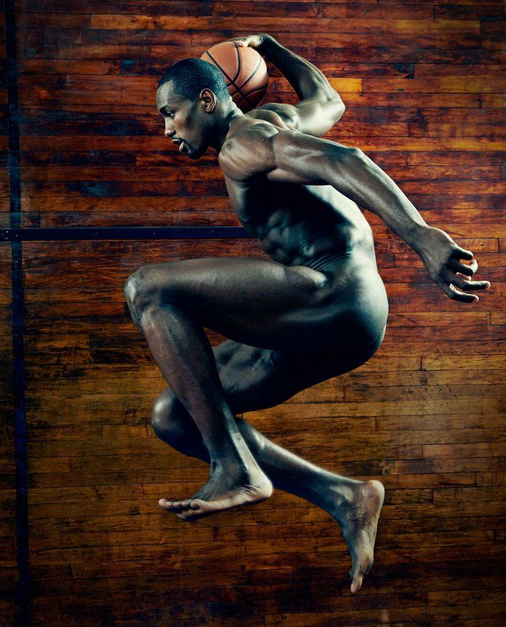 Pin for Later: 21 Flawless Physiques From the ESPN Body Issue Serge Ibaka, Basketball Source: ESPN