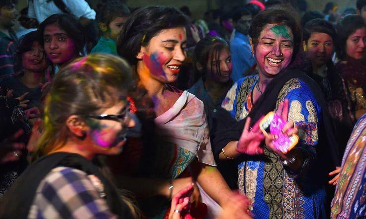 The colours of Holi in Karachi     https://www.dawn.com/news/1247667/the-colours-of-holi-in-karachi