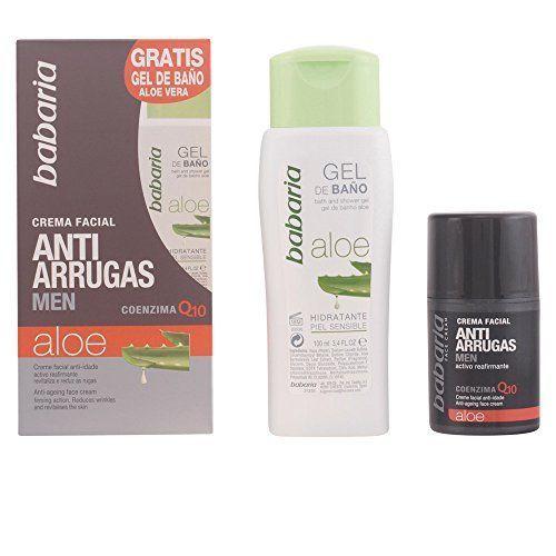 Babaria Aloe Vera Anti Age Face Cream For Men 50ml and Free Aloe Vera Shower Gel 100ml - http://best-anti-aging-products.co.uk/product/babaria-aloe-vera-anti-age-face-cream-for-men-50ml-and-free-aloe-vera-shower-gel-100ml/ #homemadewrinklecreamsaloevera