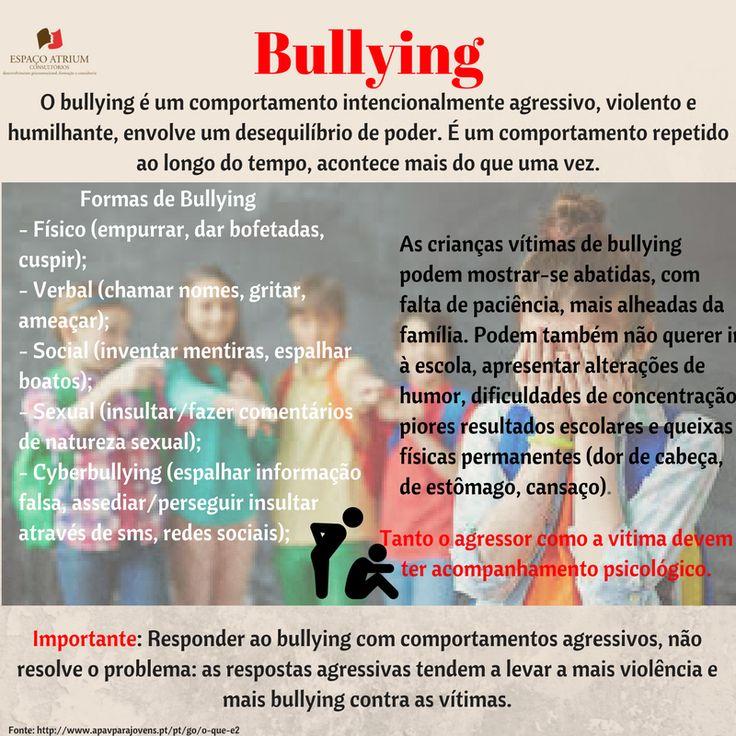 A prevenção do bullying deve centrar-se em toda a comunidade.