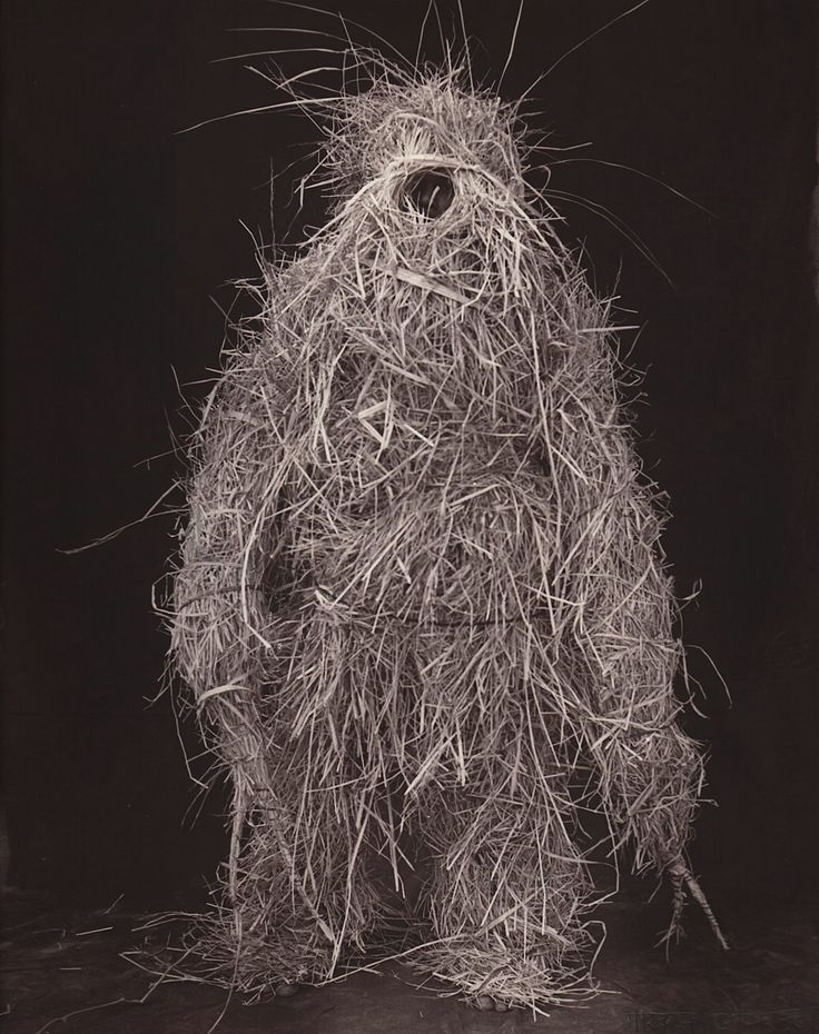 "Marcus Leatherdale  ""Strawman 2 - Muria"", 2000, from 'Adivasi'"