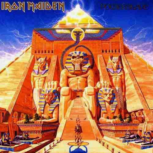 Iron Maiden Album Covers | Iron Maiden Powerslave album cover