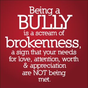 Your bullying does not make me afraid of you, it makes me feel sorry for you.... Aw haha
