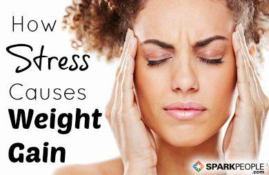 Beat Stress, Weigh Less | via @SparkPeople #wellness #diet #health