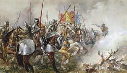 King Henry V at the Battle of Agincourt, 1415, by Sir John Gilbert