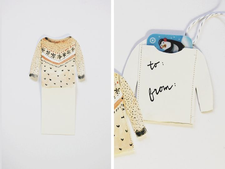 Kelli Murray | DIY GIFT CARD SWEATERS Kelli Murray