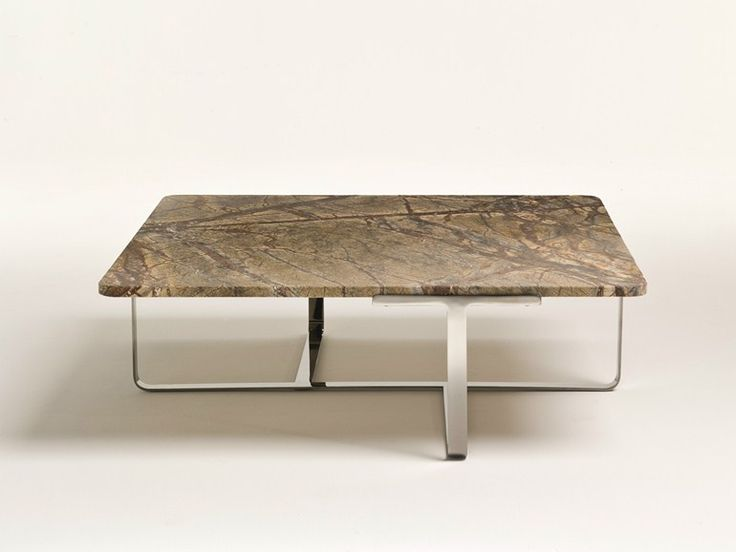 Rectangular marble coffee table Joshua Collection by i 4 Mariani | design Umberto Asnago
