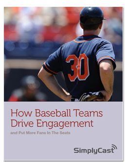 How baseball teams engage fans with marketing automation.
