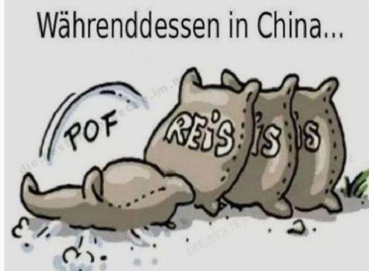 Währenddessen in China… ein Sack Reis