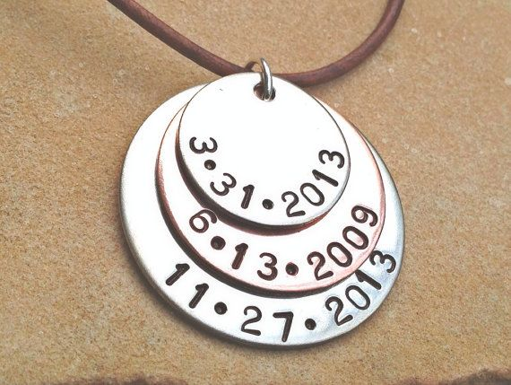 christmas gift men Mens necklace personalized for by natashaaloha, $49.00