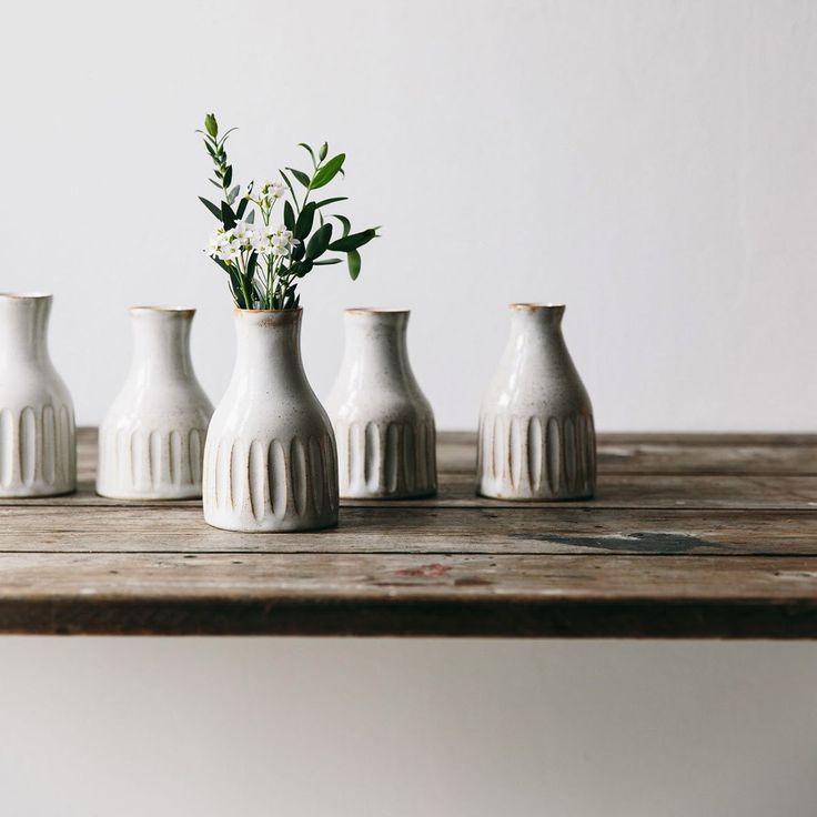 Ceramic Bud Vase No. 1 - The Future Kept