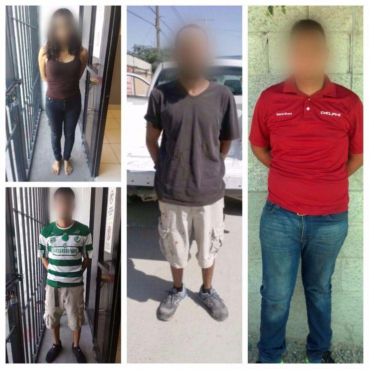 Arrestan a tres sujetos y una mujer por violencia familiar en Juárez | El Puntero