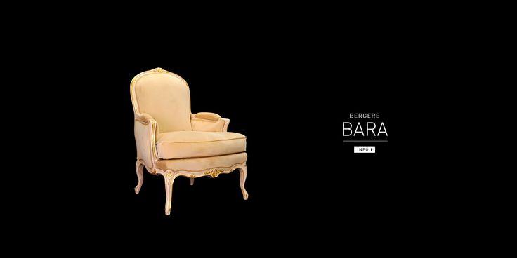 Bergère Bara, Sculptée - Balcaen