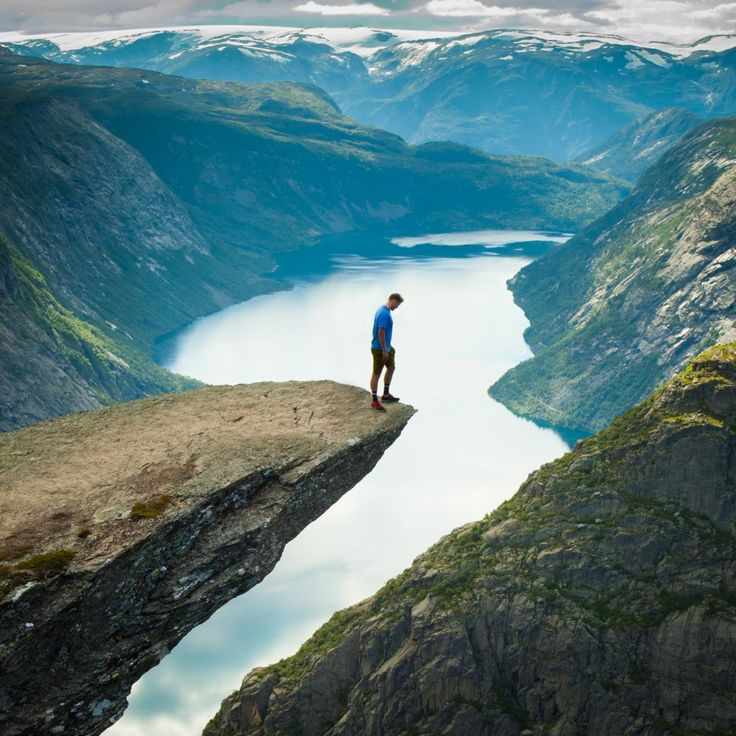 Troll's Tongue, Fjord Norway: Is this the sickest view on the planet??
