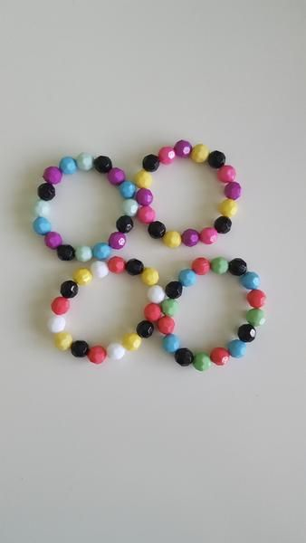 Colorful Stretch Bracelets - Kids