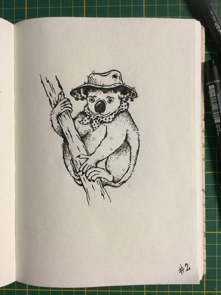 #inktober Day 2 - Koala