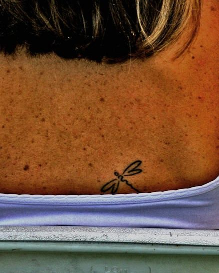 small dragonfly tattoo